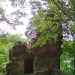 Der Klusfelsen in Goslar