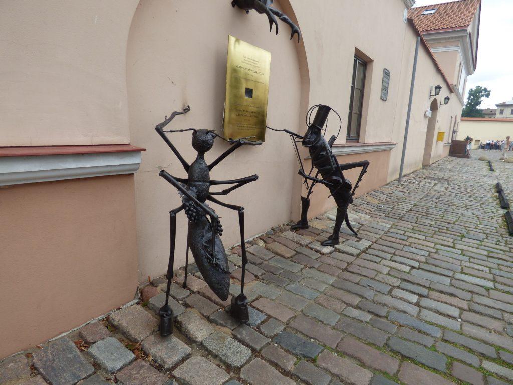 Kaunas, Skulpturen