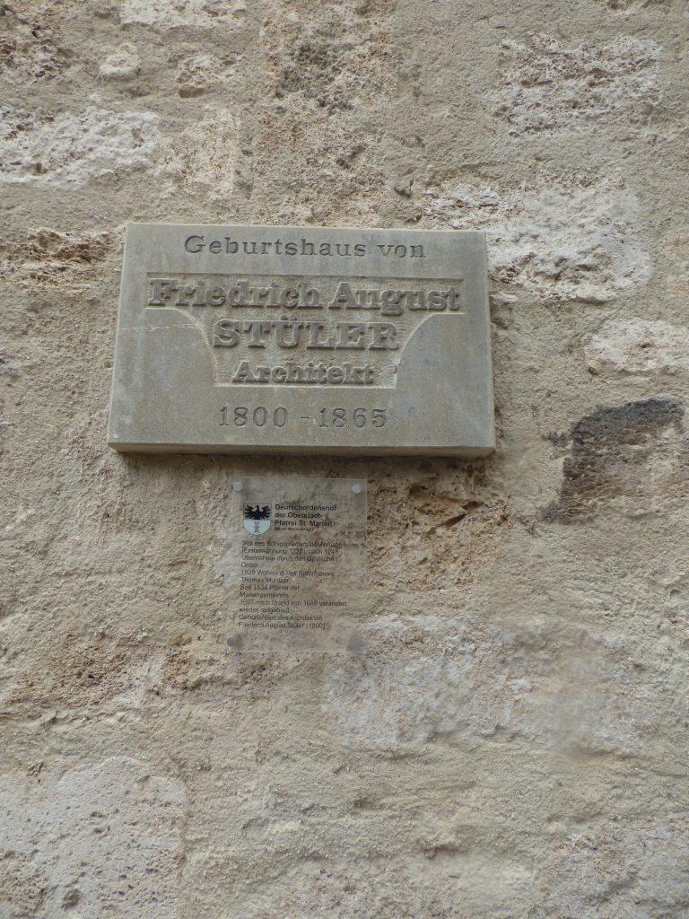 Geburtshaus August Stüler