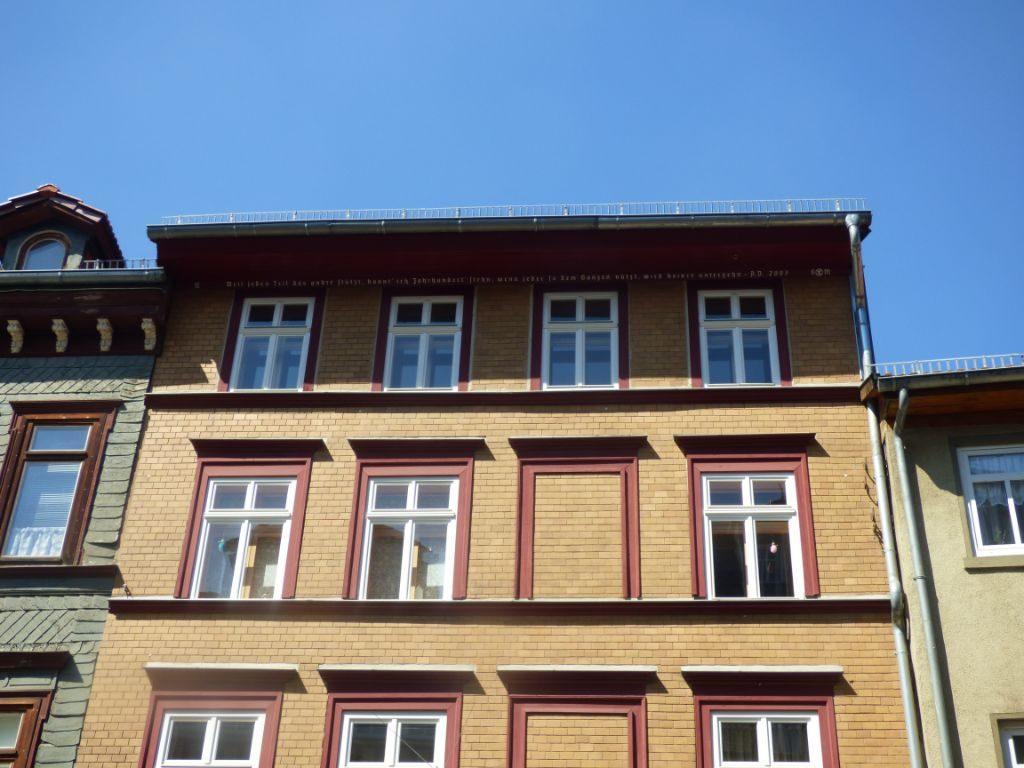 Eisenach, Hausansicht